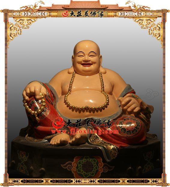 弥勒佛脱胎佛像