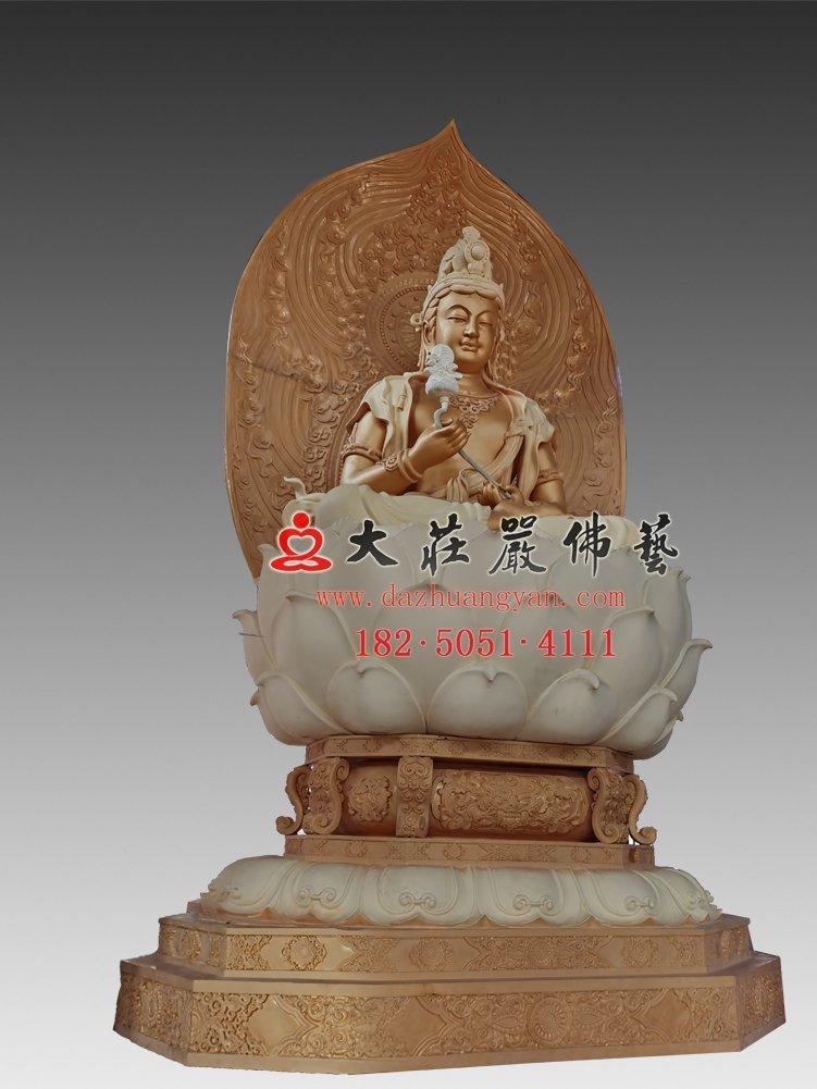月光菩萨脱胎佛像