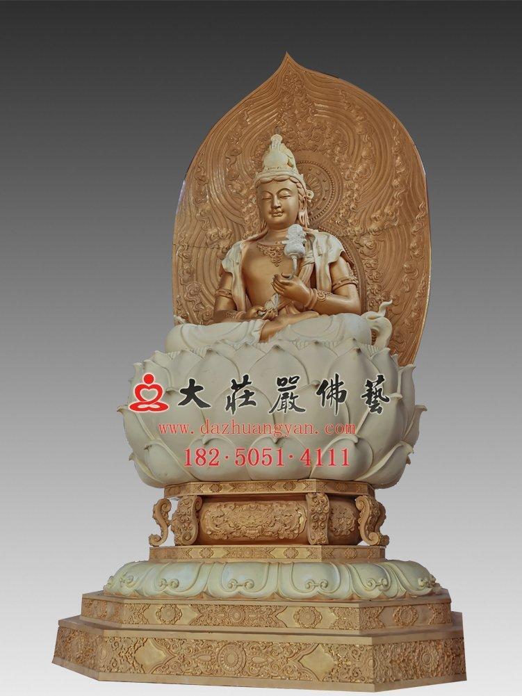 日光菩萨脱胎佛像