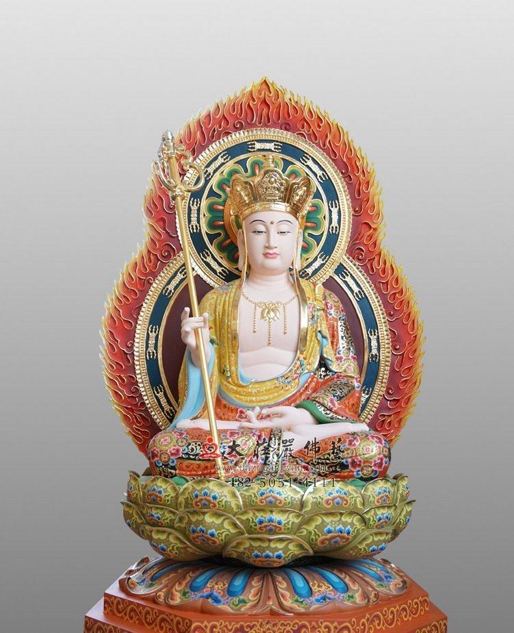 地藏王菩萨脱胎佛像