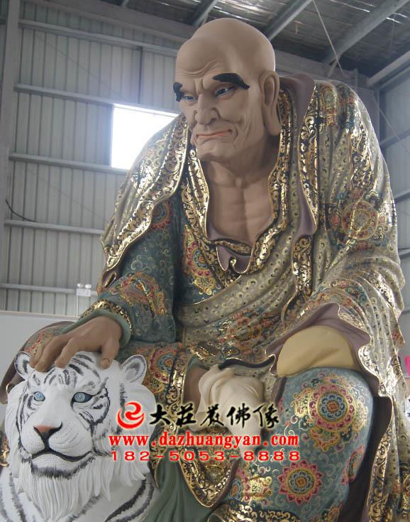 铜雕弥勒尊者塑像