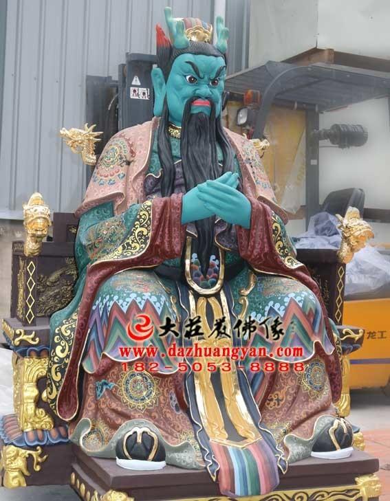 龙王彩绘神像