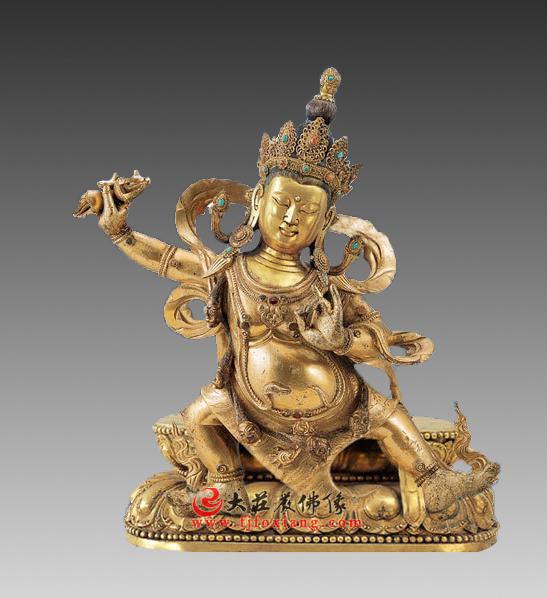 金刚手菩萨塑像