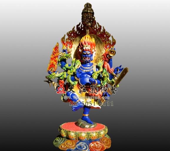 秽迹金刚彩绘塑像 大力威怒金刚火头金刚大权力士神王佛密宗佛像雕塑定制