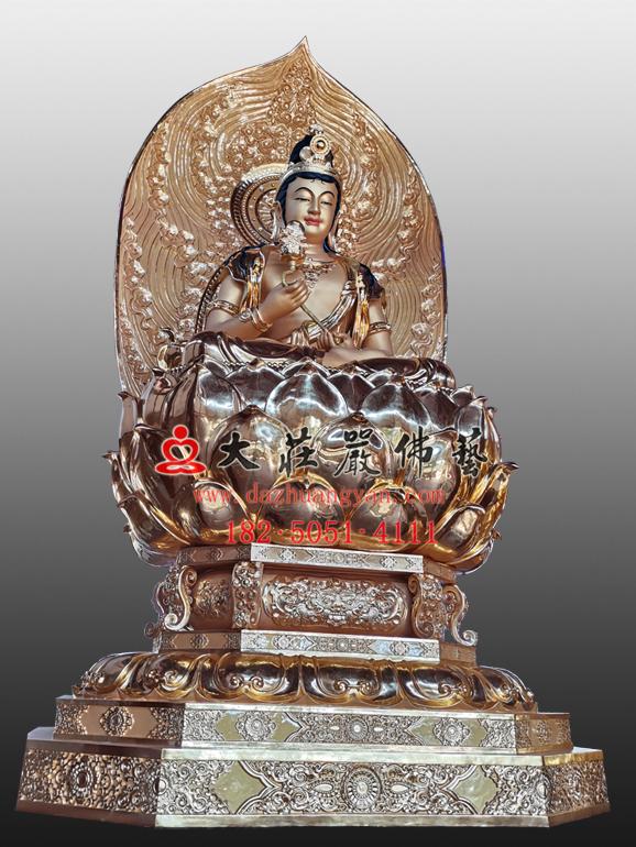 月光菩萨塑像