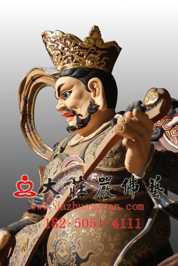 东方持国天王塑像