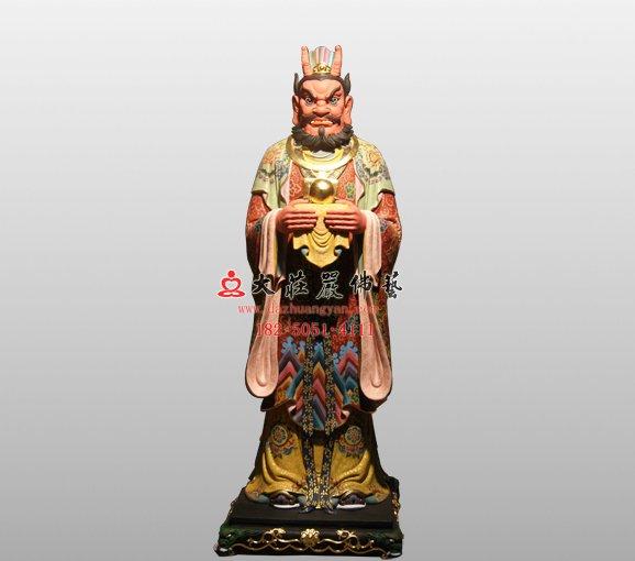 南海龙王 四海龙王脱胎神像 道教神像