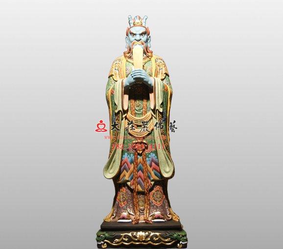 东海龙王敖广 四海龙王脱胎神像