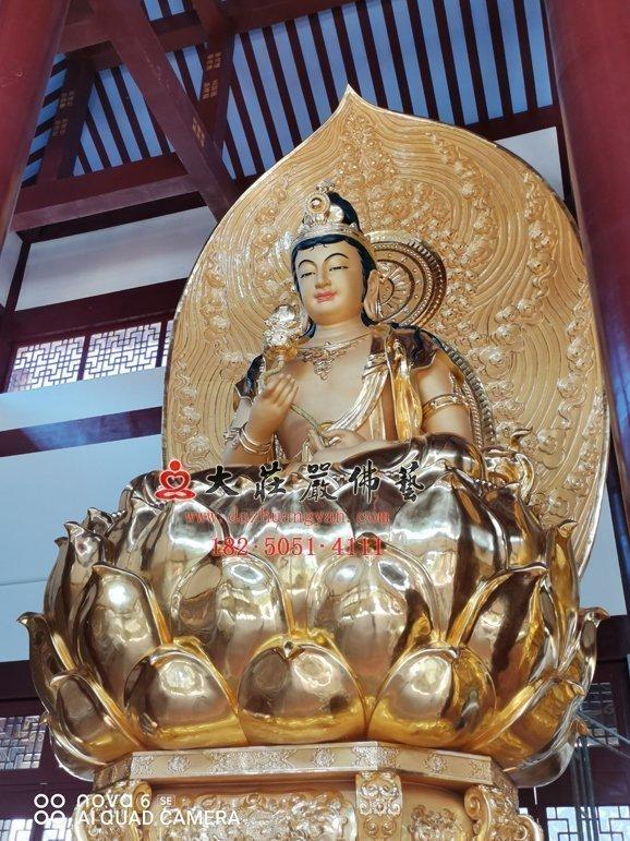 东方三圣之月光菩萨
