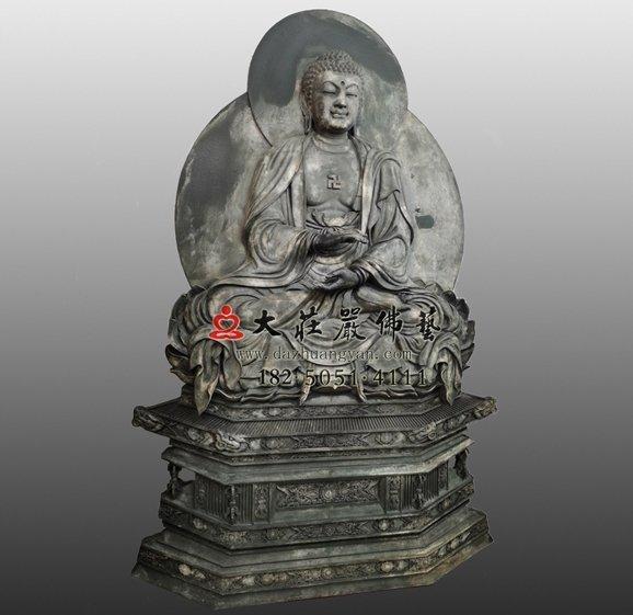 释迦牟尼佛脱胎佛像左侧照