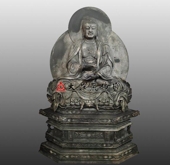 过去七佛之释迦牟尼佛脱胎佛像