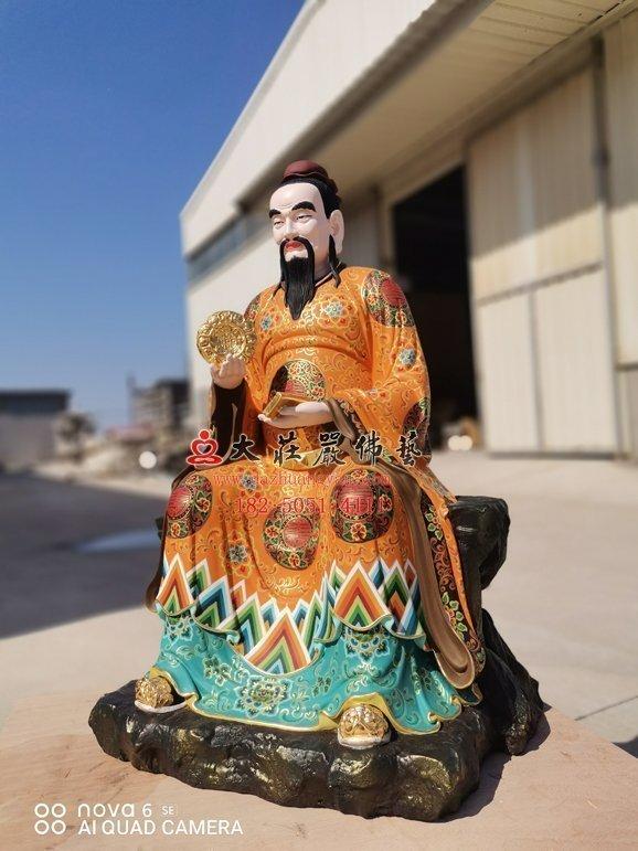 脱胎杨仙师神像右侧照