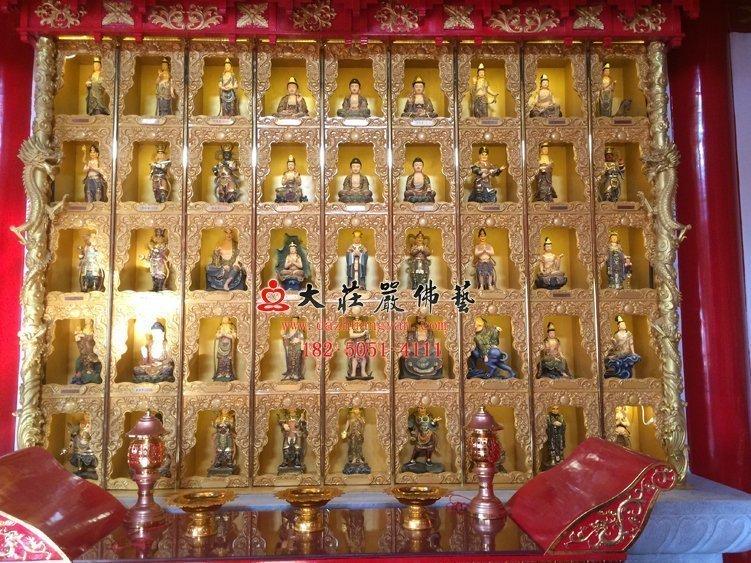 太原龍泉寺千佛塑像