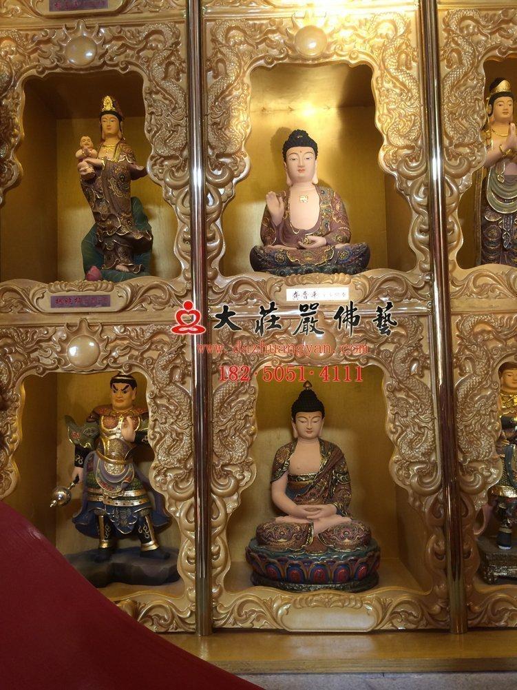 太原龍泉寺千佛雕塑